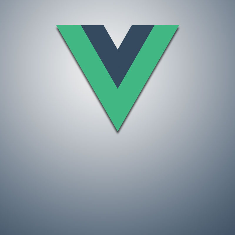 One page application with Vue JS